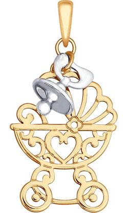 Кулоны, подвески, медальоны SOKOLOV 035111_s кулоны подвески медальоны sokolov 035318 s