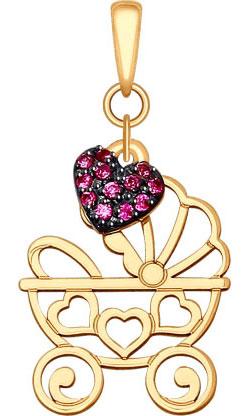 Кулоны, подвески, медальоны SOKOLOV 035117_s
