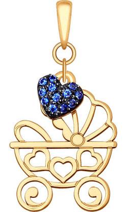 Кулоны, подвески, медальоны SOKOLOV 035118_s