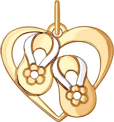 Кулоны, подвески, медальоны SOKOLOV 035176_s длинный парик блонди uni