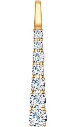 Кулоны, подвески, медальоны SOKOLOV 035185_s ювелирные подвески sokolov подвеска