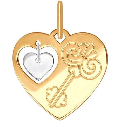 Кулоны, подвески, медальоны SOKOLOV 035252_s кулоны подвески медальоны sokolov 94032094 s