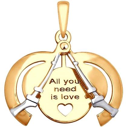 Кулоны, подвески, медальоны SOKOLOV 035310_s кулоны подвески медальоны sokolov 035318 s