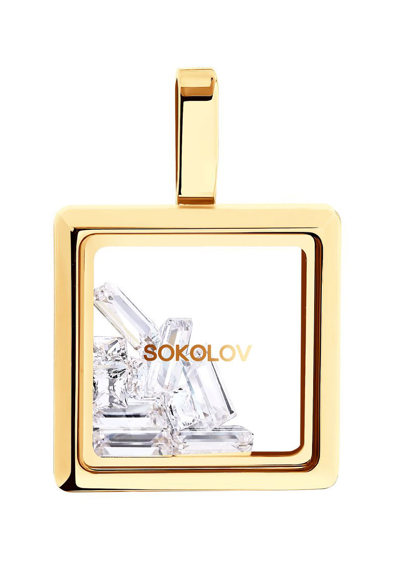Кулоны, подвески, медальоны SOKOLOV 035349_s кулоны подвески медальоны sokolov 035318 s