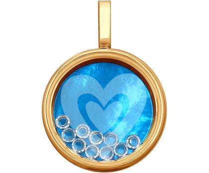 Кулоны, подвески, медальоны SOKOLOV 035353_s кулоны подвески медальоны sokolov 94032094 s