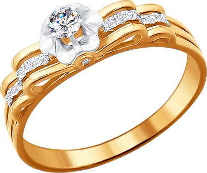 Кольца SOKOLOV 1011217_s ювелирные кольца sokolov кольца