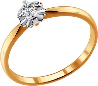 Золотые кольца Кольца SOKOLOV 1011307_s фото
