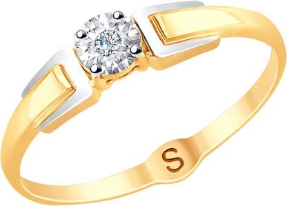 Золотые кольца Кольца SOKOLOV 1011724_s фото