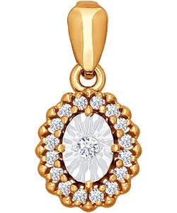 Кулоны, подвески, медальоны SOKOLOV 1030417_s кулоны подвески медальоны sokolov 6049006 s