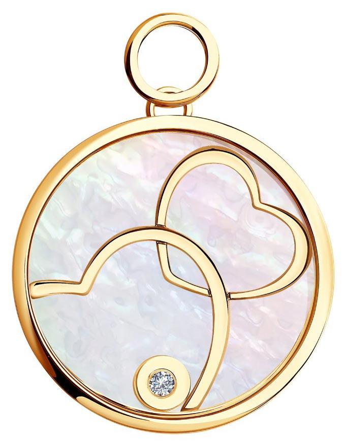 Золотые кулоны, подвески, медальоны Кулоны, подвески, медальоны SOKOLOV 1030431_s фото