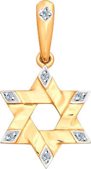 Кулоны, подвески, медальоны SOKOLOV 1030471_s от AllTime