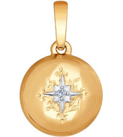 Кулоны, подвески, медальоны SOKOLOV 1030519_s