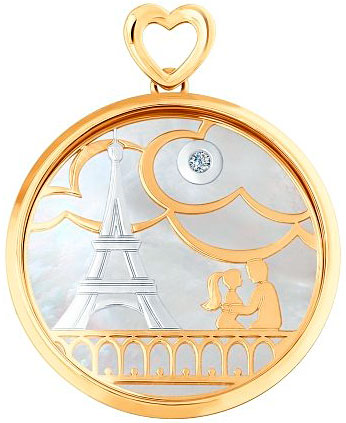 Кулоны, подвески, медальоны SOKOLOV 1030599_s