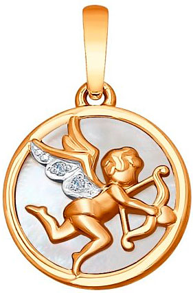Кулоны, подвески, медальоны SOKOLOV 1030610_s цена