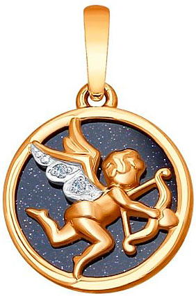 Кулоны, подвески, медальоны SOKOLOV 1030611_s кулоны подвески медальоны sokolov 035318 s