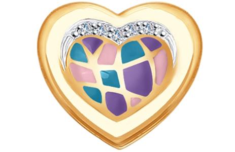 Кулоны, подвески, медальоны SOKOLOV 1030660_s