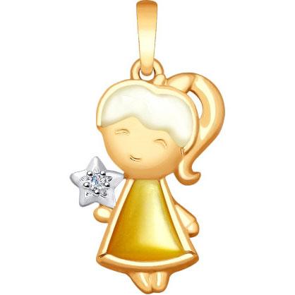 Кулоны, подвески, медальоны SOKOLOV 1030700_s