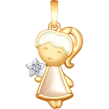 Кулоны, подвески, медальоны SOKOLOV 1030701_s
