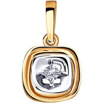 Золотые кулоны, подвески, медальоны Кулоны, подвески, медальоны SOKOLOV 1030708_s фото