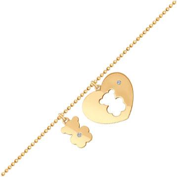 Браслеты SOKOLOV 1050113_s красный браслет цепи веревки для женщин розовое золото цвет бисера шарм ювелирные изделия браслеты vintage модные аксессуары 26321