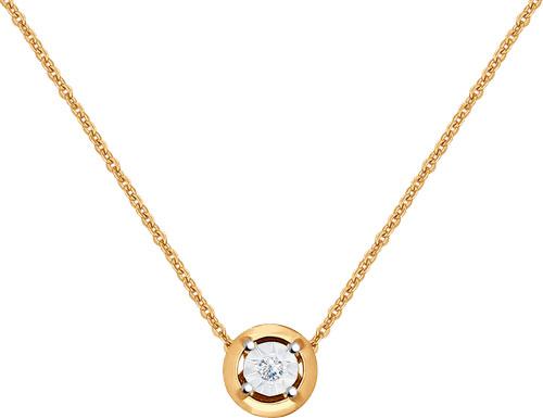 Колье SOKOLOV 1070031_s золотое колье с бриллиантами