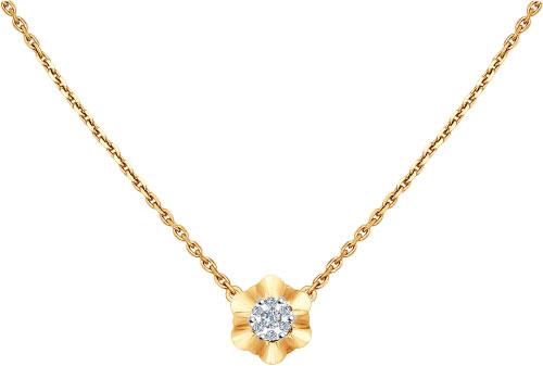 Колье SOKOLOV 1070032_s золотое колье с бриллиантами