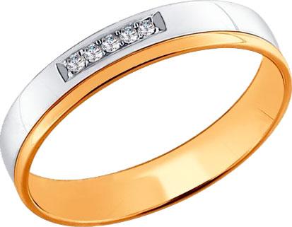 Кольца SOKOLOV 1110155_s мужское кольцо и перстень эстет мужское золотое кольцо est01т712118 17 5