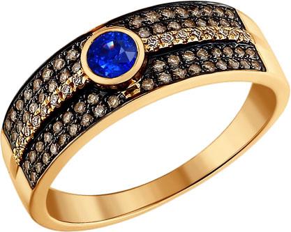 Кольца SOKOLOV 2010903_s кольцо алмаз холдинг женское золотое кольцо с бриллиантами и рубином alm13237661 19