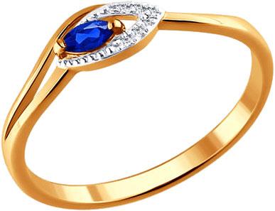 Кольца SOKOLOV 2010963_s кольцо алмаз холдинг женское золотое кольцо с бриллиантами и рубином alm13237661 19