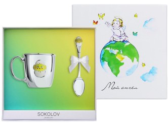 Столовое серебро SOKOLOV 24024_s от AllTime