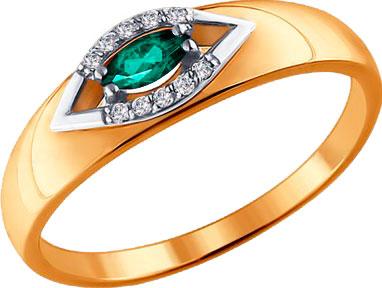 Золотые кольца Кольца SOKOLOV 3010525_s фото