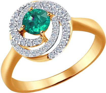Кольца SOKOLOV 3010549_s кольцо алмаз холдинг женское золотое кольцо с бриллиантами и рубином alm13237661 19