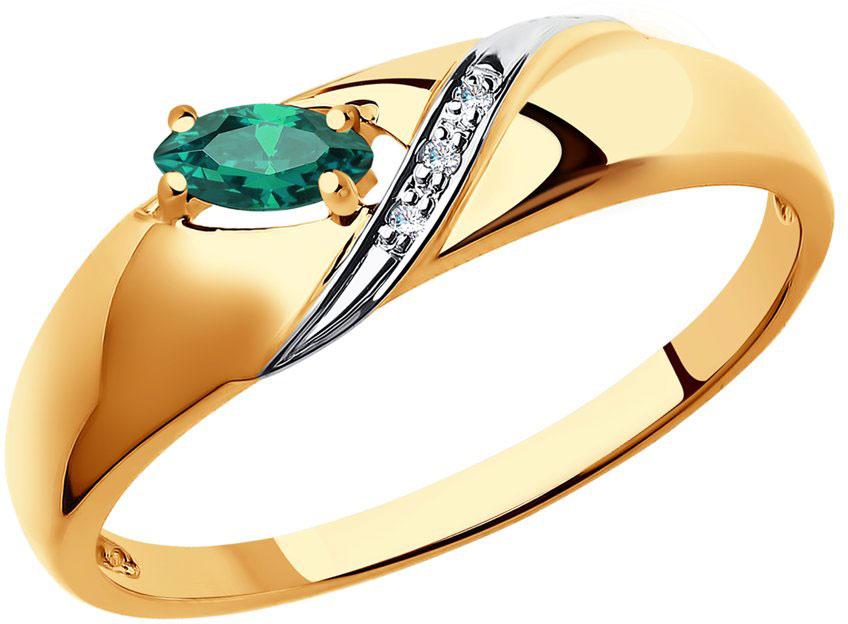 Кольца SOKOLOV 3010550_s кольцо алмаз холдинг женское золотое кольцо с бриллиантами и рубином alm13237661 19