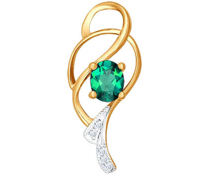 Кулоны, подвески, медальоны SOKOLOV 3030057_s женский кулон soul diamonds золотой кулон с бриллиантами buhk 8280 14ky