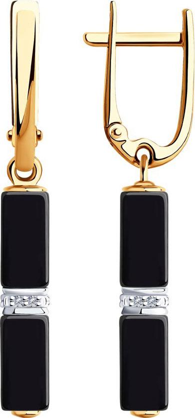 Золотые серьги Серьги SOKOLOV 6025125_s фото