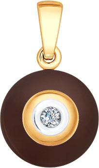 Кулоны, подвески, медальоны SOKOLOV 6035021_s