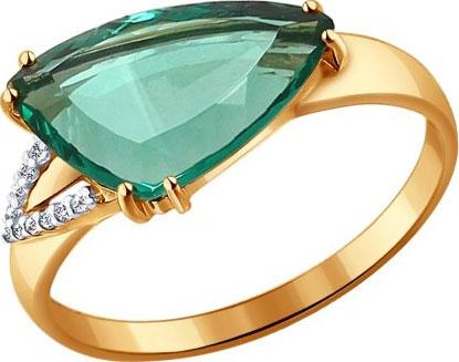 Золотые кольца Кольца SOKOLOV 714115_s фото