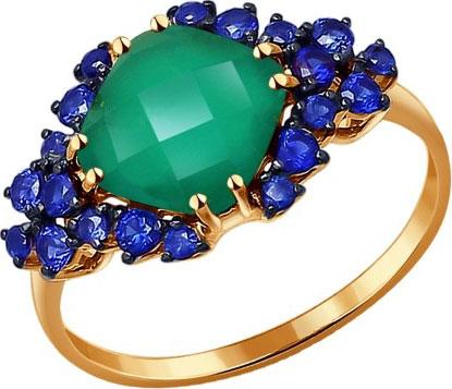 Кольца SOKOLOV 714131_s кольцо мужское с хризопразом монсеньор