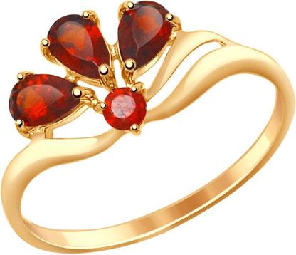 Кольца SOKOLOV 714594_s sokolov женское золотое кольцо с куб циркониями nd017142 16