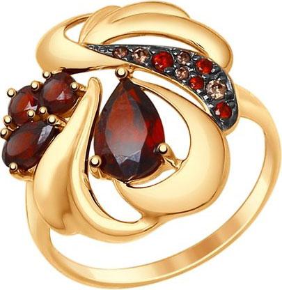 Кольца SOKOLOV 714720_s купить чехол для айфона 4 с камнями