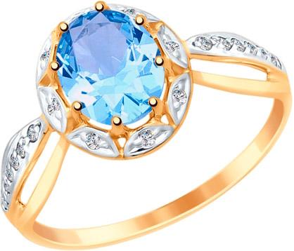 Золотые кольца Кольца SOKOLOV 715031_s фото