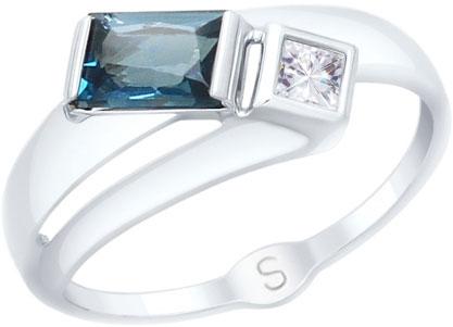 Кольца SOKOLOV 715054_s hpolw моды с головой дракона mens кольца панк рок стиля черный камень mens кольца из нержавеющей стали кольца украшения