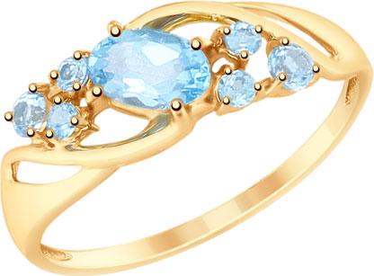 Золотые кольца Кольца SOKOLOV 715179_s фото