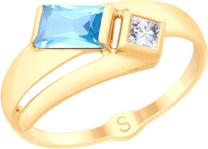 Кольца SOKOLOV 715211_s ювелирные кольца sokolov кольца