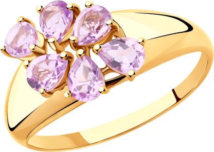 Золотые кольца Кольца SOKOLOV 715399_s фото