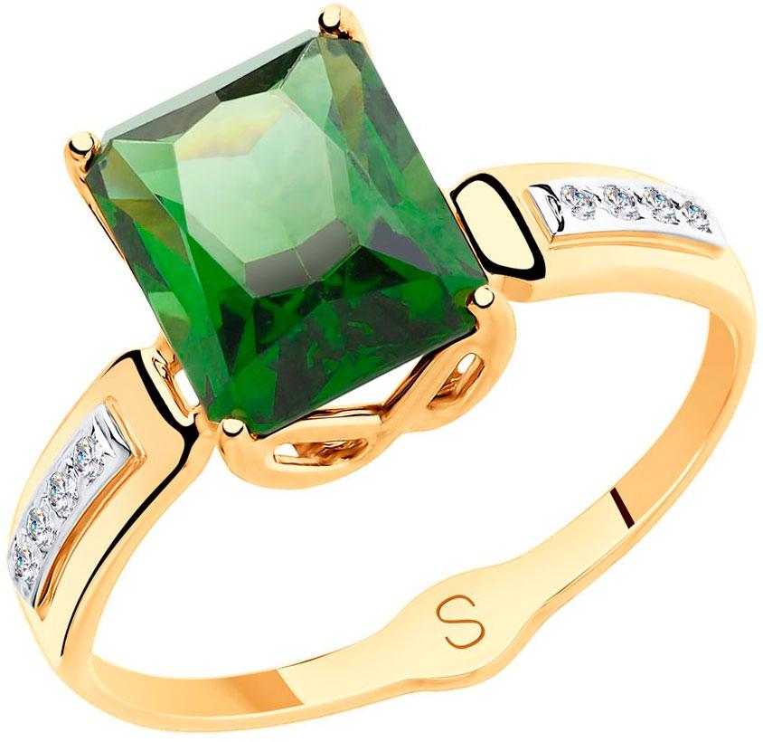 Золотые кольца Кольца SOKOLOV 715414_s фото
