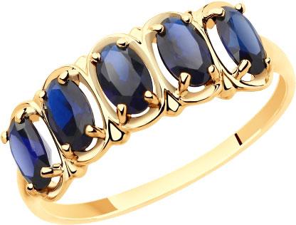 Золотые кольца Кольца SOKOLOV 715444_s фото