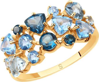 Золотые кольца Кольца SOKOLOV 715649_s фото