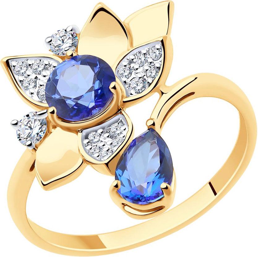 Золотые кольца Кольца SOKOLOV 715962_s фото