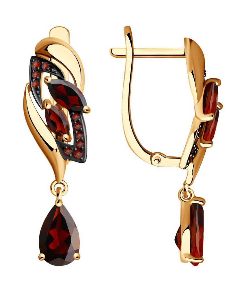 Серьги SOKOLOV 725065_s u7 роскошные хрустальные бусины браслеты для женщин ювелирные изделия 2016 новые модный черный красный камень хамса рука сглаза браслет page 6